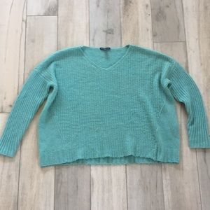 Eileen Fisher baby camel wool soft waffle knit